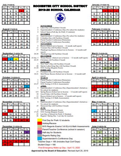 Honeoye Falls Ny December 2020 Calendar Dates | rochesterteachers.org